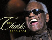Ray charles tribute sees the stars come out